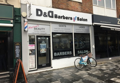 M3443 : D and D Barbers & Salon