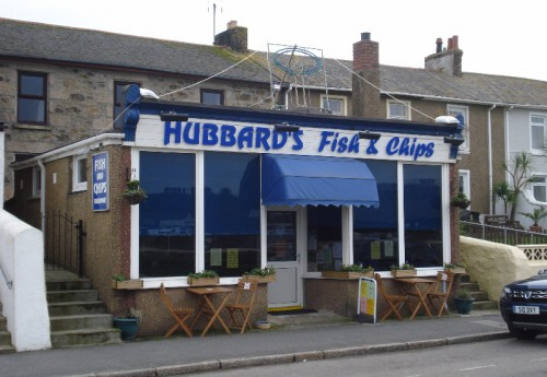 R1632 : Harbourside fish and chip shop